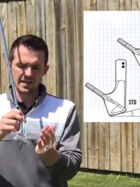 Screenshot from lesson titled - Correct Bounce for your Wedges - by Randy Smith
