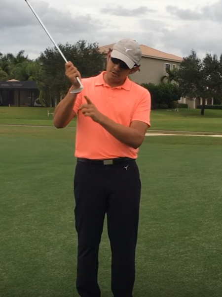 Screenshot from lesson titled - Use Bounce when Chipping - by Marvin Sanguesa