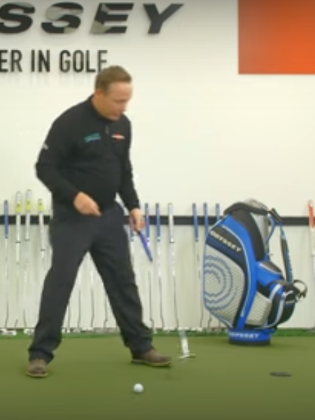 Screenshot from lesson titled - Pressure Putting 2 - by Phil Kenyon