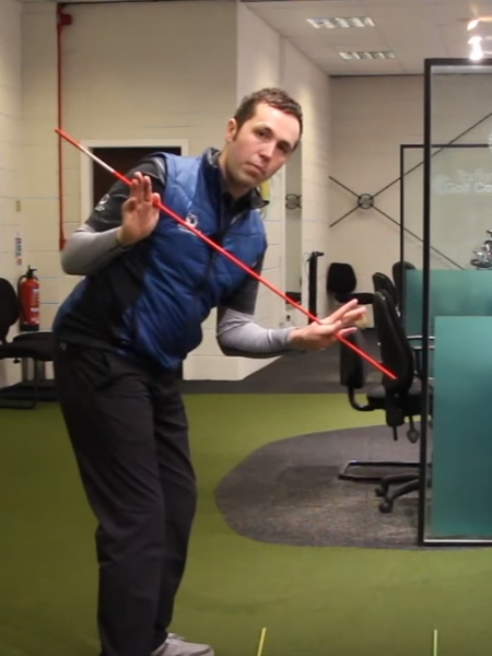 Screenshot from lesson titled - Improve Your Golf Swing Plane - by Rick Shiels